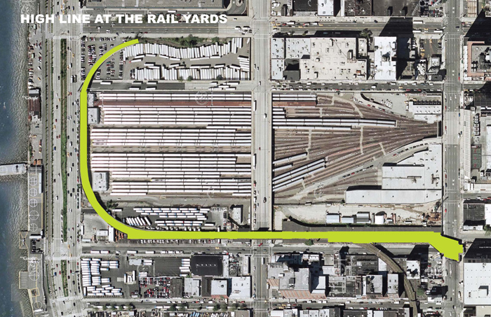 02_High Line at the Rail Yards Context Map Detail