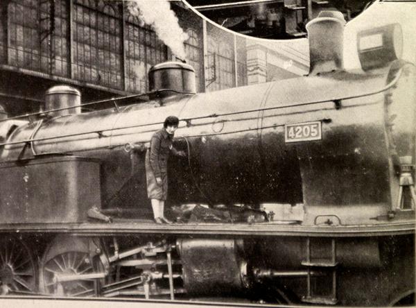 'Confederación 4205' de la compañía Norte antes de partir.