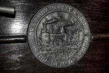 moneda_Ferrocarril de Huelva y El Buitrón.