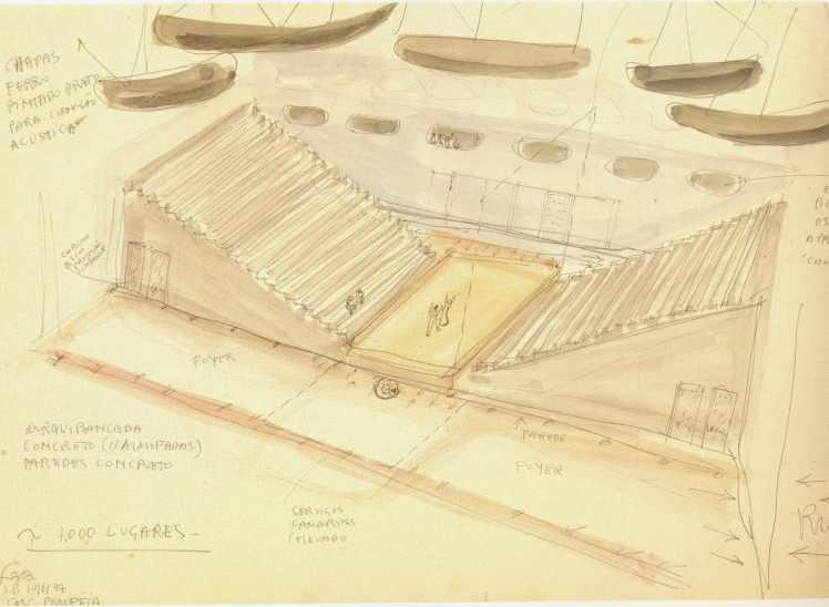 SESC Pompeia sketch teatro