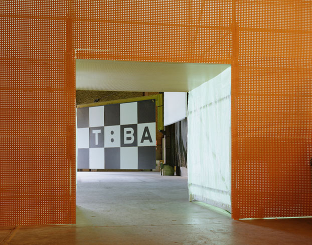 Contemporary-Art-Temporary-Theater--Media-Wall-Passage