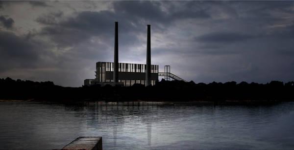 Proyecto de reconversión de la antigua Central Térmica de Alcudia (Mallorca). AH Asociados.
