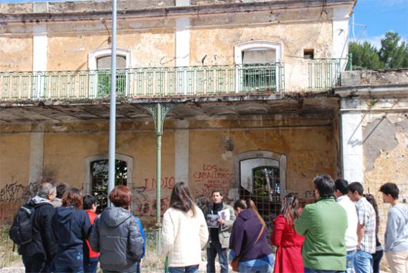 Antigua Estación de tren de Martos. Foto de David García-Asenjo Llana