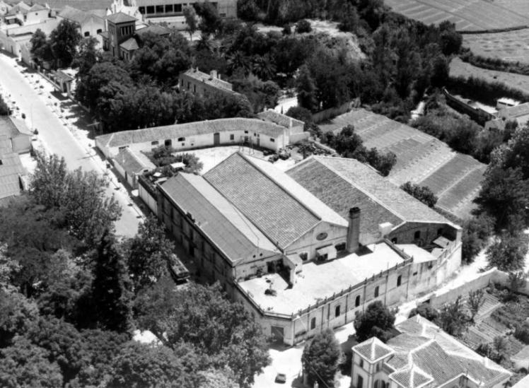 Edificio Casa del Ancla. Exterior. 1948 - FOTO: Archivo Pallarés Hermanos