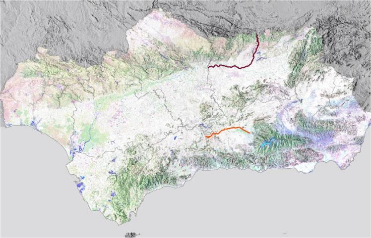 La visión del patrimonio ferroviario de Andalucía tiempo y espacio 1854 a 1875 oriente