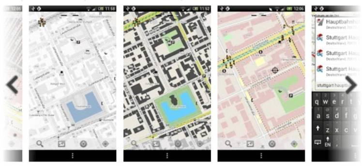 Mapdroyd_capturas pantalla aplicación