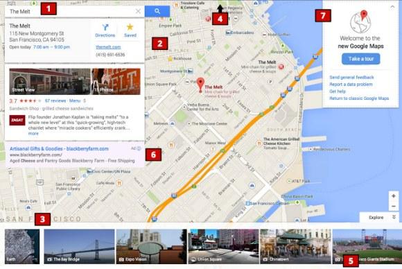 Nueva Interfaz Google Maps