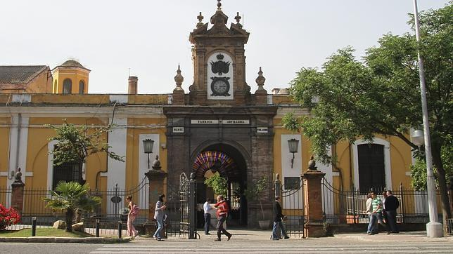 Patrimonio industrial. Fábrica de Artilleria de Sevilla. Fuente ABC