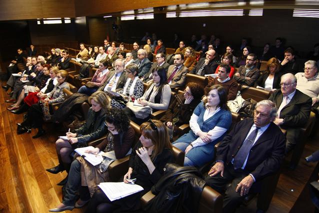 Asistentes al V Congreso de TICCIH, en la ciudad de Ferrol, en 2009