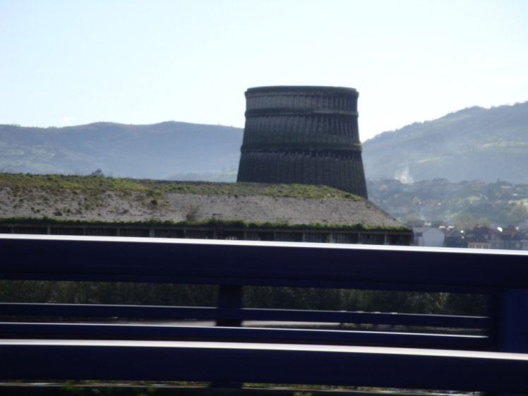 Paisaje industrial Mieres a camino de Pozo Sotón.  © Patricia Ferreira Lopes