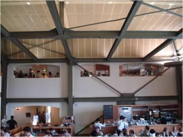 Vista interna del Museo d´Orsay. Vista interna de la cafetería. Fuente: Patricia Lopes (2008).