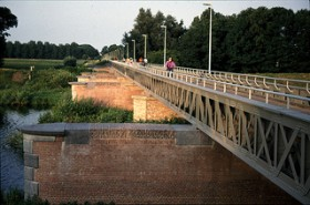 Railway bridges in the Langstraat Region, from 's-Hertogenbosch to Lage Zwaluwe, THE NETHERLANDS