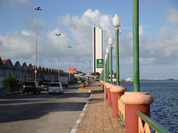 Cais José Estelita en la ciudad de Recife