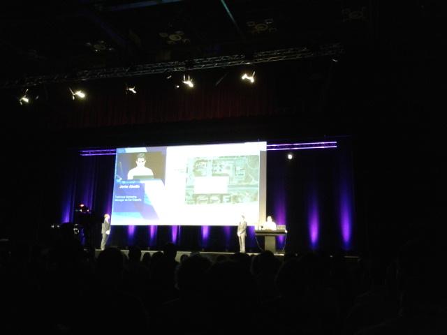 Conferencia Esri 2013. Sesión Plenaria de apertura del evento.