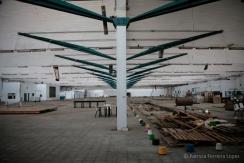 Thextile Hytasal. Nave de la antigua fábrica Hytasa. Fuente: Patricia Ferreira Lopes