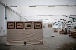 Exposición Imágenes antiguas de la fábrica Hytasa. Fuente: Patricia Ferreira Lopes