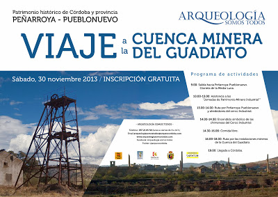 Cartel-Peñarroya_ visita cuenca minera guadiato - Córdoba