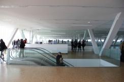 Vista interior del edificio, en el mirador, planta superior. © Patricia Ferreira Lopes