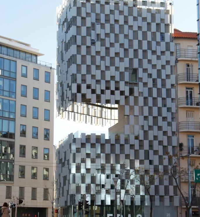 Edificio del FRAC. Fuente: Patricia Ferreira Lopes