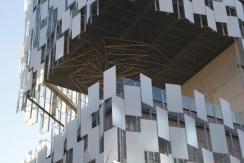 Detalle volumen edificio del FRAC. Fuente: Patricia Ferreira Lopes