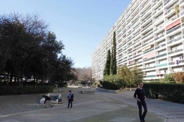 Boulevard Michelet .  Jan. 2014. © Patricia Ferreira Lopes