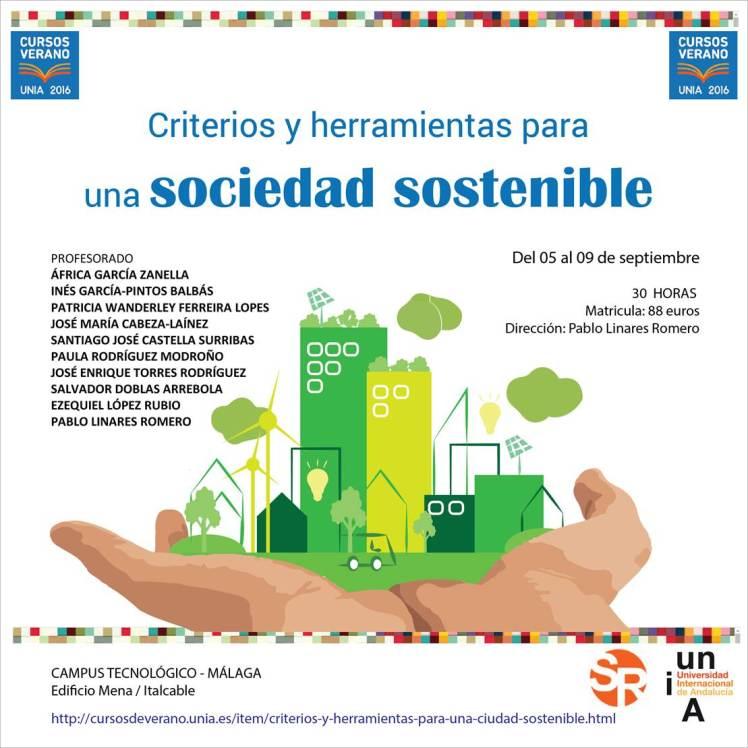 Curso criterios y herramientas para una sociedad sostenible_UNIA 2016_patricia ferreira lopes_pablo linares